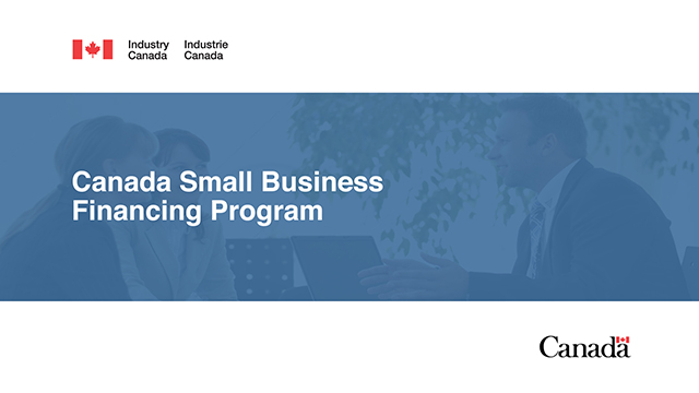 Canadian Small Business Financial Assistance